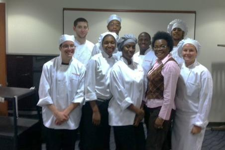 Hospitality and Tourism Management students