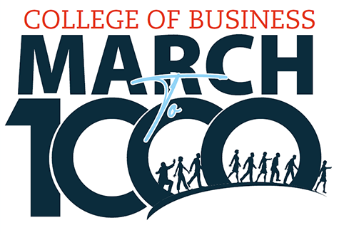 March to 1K logo