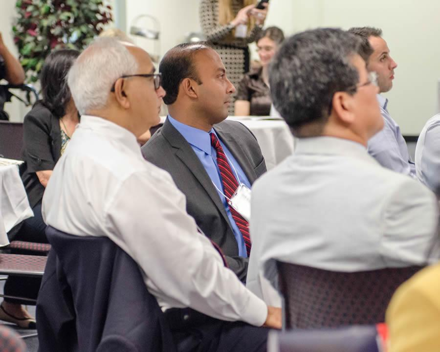 attendees at forum